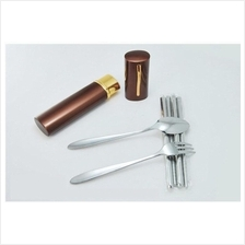306. AOTU Stainless Steel Camping Tableware Sets AT6362