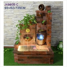 EXTRA LARGE WATER FOUNTAIN HEIGHT 135 CM HOME DECORATION JX8608C