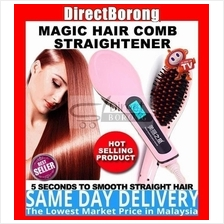 Beautiful Star LCD Magic Hair Comb Straighter instyler