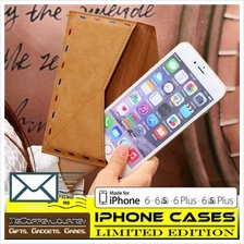 IPHONE POUCH Leather Envelope for iPhone 6 / 6S / 6 Plus / 6S Plus