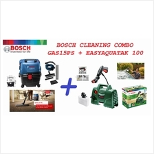 Bosch Cleaning Combo GAS15PS Vacuum Cleaner & Aquatak Pressure Washer