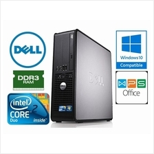 Dell Optiplex 780 SFF Core2Duo DDR3 Windows 7 Pro CPU