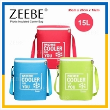 ZEEBE 15L Large Insulated Thermal Lunch Box Warm Cooler Food Bag