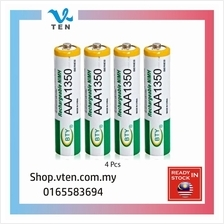 4pcs AAA 1.2V Rechargeable Battery Bateri Chargeable Charger
