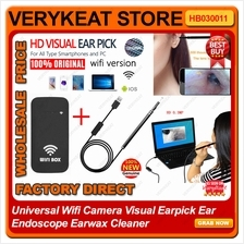 Universal Wifi Camera Visual Earpick Ear Endoscope Earwax Cleaner
