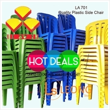4 unit - 3v LA701 Grad A High Quality Plastic Side Chair New ( 4pcs )