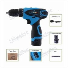 VOTO Tools 12V Cordless Drill Electric Screwdriver ~ Dual Speed