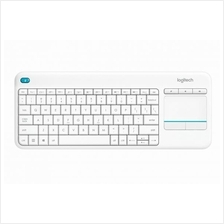 Logitech Wireless Touch Keyboard K400 Plus - White - AP (920-007166)
