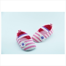 Raya Sale Baby Girl Princess baby shoes prewalker Pink canvas shoes