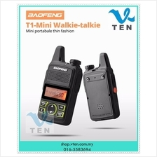 BAOFENG T1 BF-T1 400-470mhz UHF 20CH Portable Mini Walklie Talkie