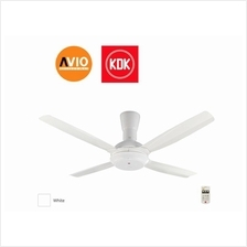 KDK K14X5-WT CEILING FAN 56' 56 inch 4 BLADE REMOTE 3 SPEED