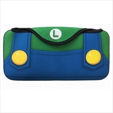 Case Casing Soft Bag Quick Pouch Luigi Mario Nintendo Switch (Limited)