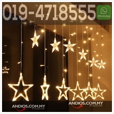 2m 138 LED Light Lucky Star Love Light Lighting Lampu Valentines raya