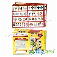 Promotional Leaflet for Gift Ideas (50 sheets/pkt)