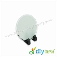 Mini Glass Frame with Stand (Round) (4mm) (10 x 10cm)