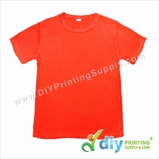 Dryfit Tee (Round Neck) (Full Red) (XL) (160gsm)