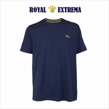 ROYAL EXTREMA BIG SIZE Cotton Round Neck T-shirt RE1001 (Navy)