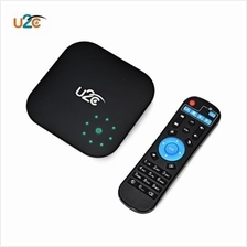 U2C V PLUS TV BOX ANDROID 7.1 SUPPORT 4K 2.4 / 5.8GHZ (BLACK)