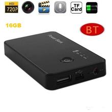 16GB Black Box Power Bank Hidden Camera with DVR 1280x720