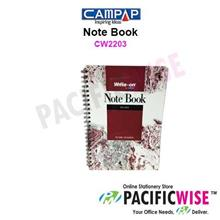 Campap CW2203 WRITE-ON SPIRAL NOTE BOOK (50pg) A5