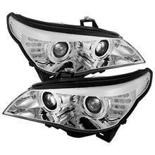 BMW E60 5-Series 2003-06 SONAR Double Projector Head Lamp *Chrome Base