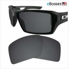 eBosses Polarized Replacement Lenses for Oakley Eyepatch 2 - Solid Bla