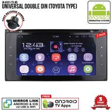 "UNIVERSAL TOYOTA 7"" ANDROID Double Din GPS DVD Mirror Link Player"