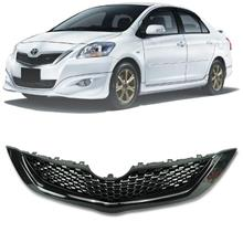 TOYOTA VIOS 2nd Gen 2007-12 Black RS Front Grille with RS Logo Emblem