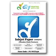 Inkjet Paper 250g (Wooden Cloth Texture) (50 sheets/pkt)