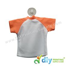 Mini Tee (Orange) with Hanger & Suction Cup
