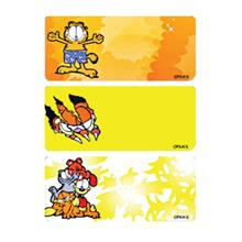 Name Sticker (Garfield) (30mm X 13mm) (1,000pcs)