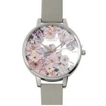Olivia Burton Enchanted Garden Grey, Silver & Rose Gold)