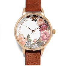 Olivia Burton Flower Show Tan & Rose Gold)