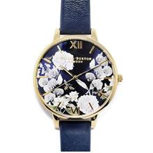 Olivia Burton Navy Meets Dusty Pink Midnight Floral & Gold)