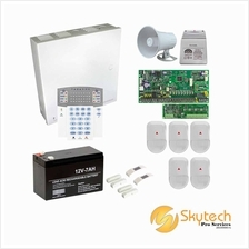 Paradox 8-zone Alarm Package (Spectra SP6000)