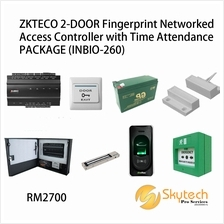 ZKTECO 2-DOOR Fingerprint Networked Access Controller with Time Attend