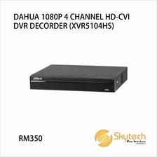 DAHUA 1080P 4 CHANNEL HD-CVI DVR DECORDER (XVR5104HS)