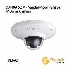 DAHUA 5.0MP Vandal-Proof Fisheye IP Dome Camera