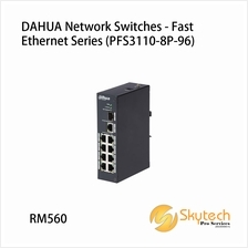 DAHUA Network Switches - Fast Ethernet Series (PFS3110-8P-96)