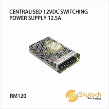 CENTRALISED 12VDC SWITCHING POWER SUPPLY 12.5A