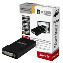 KWORLD TV BOX EXT USB PC to TV (UD165)