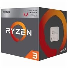 AMD RYZEN 3 2200G 3.5GHZ SOCKET AM4 PROCESSOR (YD2200C5FBB)