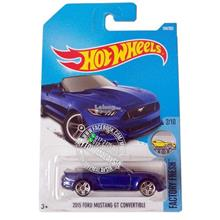 Hot Wheels 2017 Factory Fresh 2015 Ford Mustang GT Convertible [Blue]