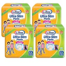 Lifree Ultra Slim Pants Adult Diapers XL 9pc X 4packs