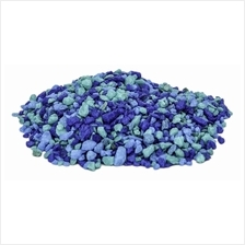 Decorative Blue Gravel 300ml (Aquarium/Vivarium/Terrarium/Succulent)