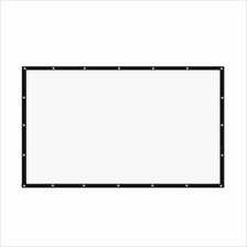 120 INCH TABLETOP PROJECTOR SCREEN 16:9 (WHITE)
