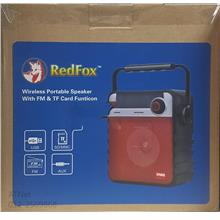 Redfox Wireless Portable Speaker With FM & TF Card Function