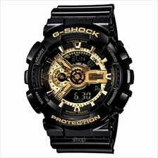 Casio G-Shock GA-110GB-1A Black-Gold Analog Digital Watch
