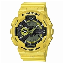 Casio G-Shock GA-110NM-9A Special Color Series Metallic Yellow Watch