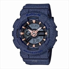 Casio Baby-G BA-110DE-2A1 Special Color Denim'd Ana-Digital Watch